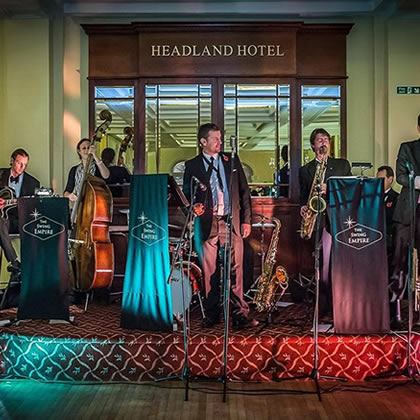 wedding jazz band cornwall